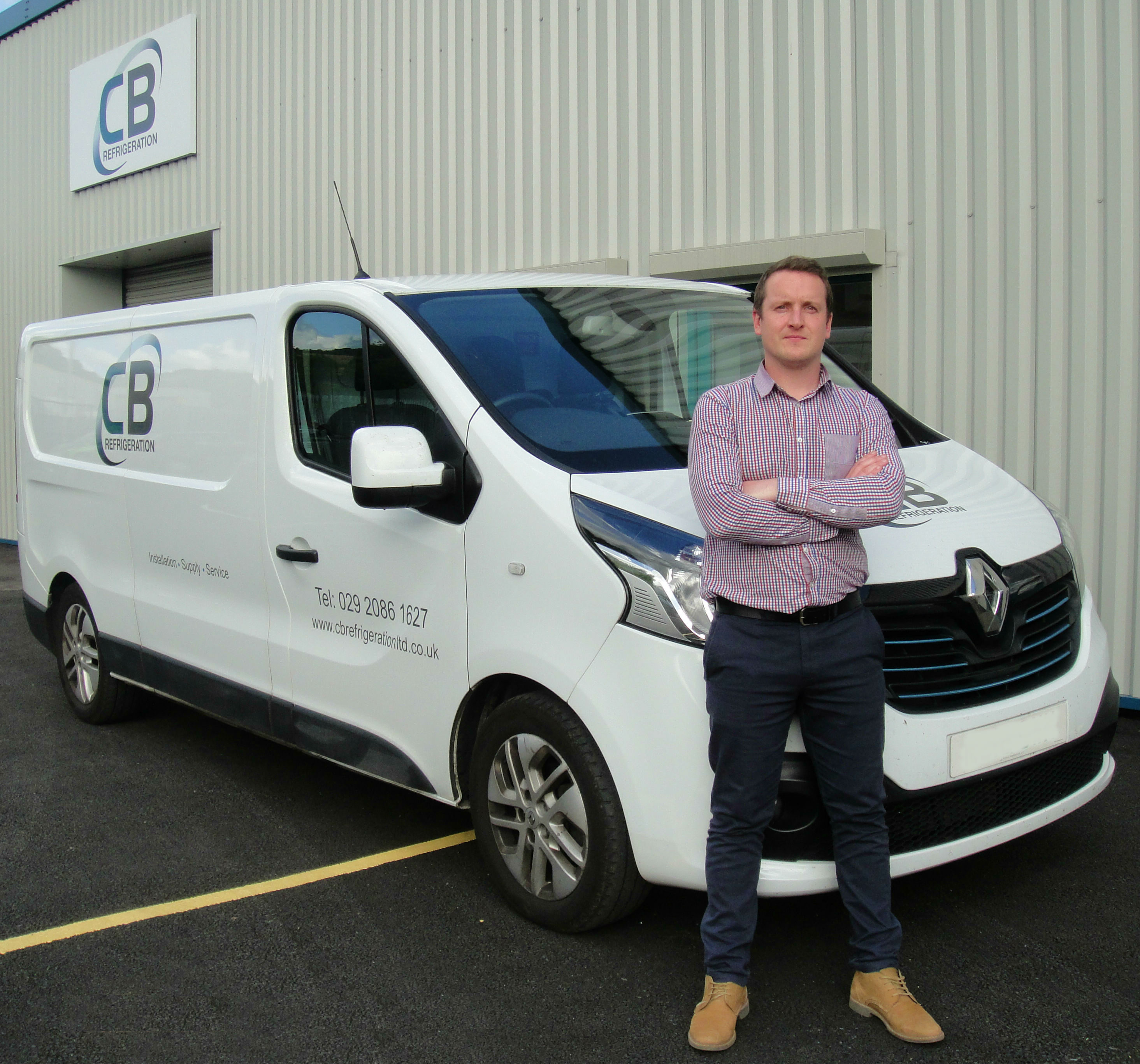 Tom Hannaby Director CB Refrigeration Ltd